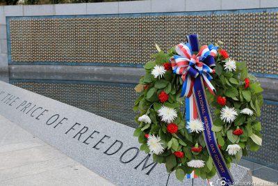 Das National World War II Memorial