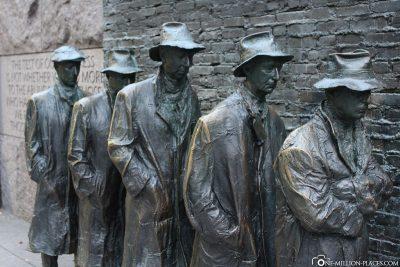 Das Franklin Delano Roosevelt Memorial