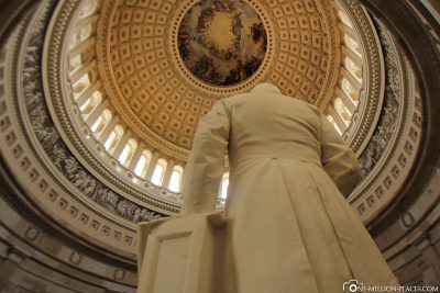The dome of the Capitol