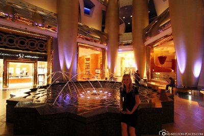 Die Lobby am Abend