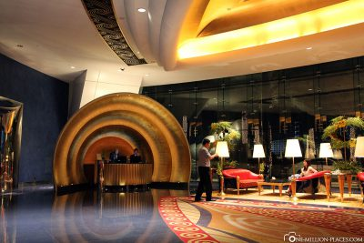 Die Lobby des Hotels