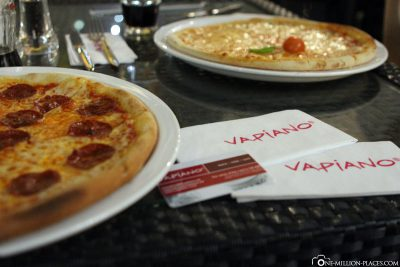 Food at Vapiano Dubai
