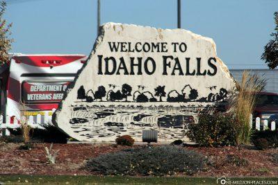 Welcome to Idaho Falls