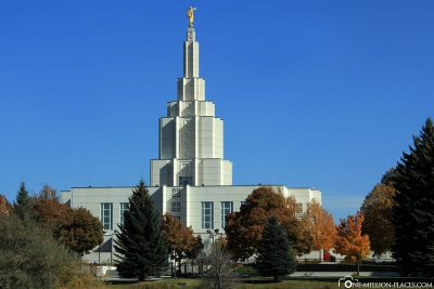 The Idaho Falls Idaho Temple