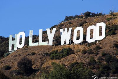 Das Hollywood Sign