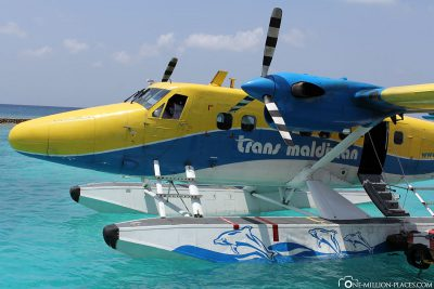 Ankunft auf Veligandu Island