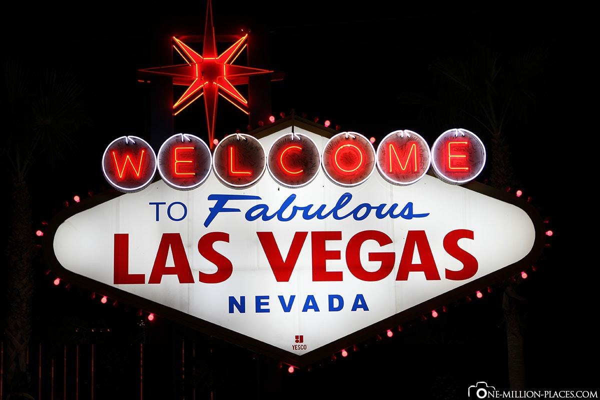 Welcome, Las Vegas, Nevada, USA, Gambling Metropolis, Travelreport