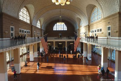 Ellis Island Immigrant Building