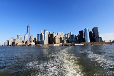 The trip from Manhattan to Liberty Island