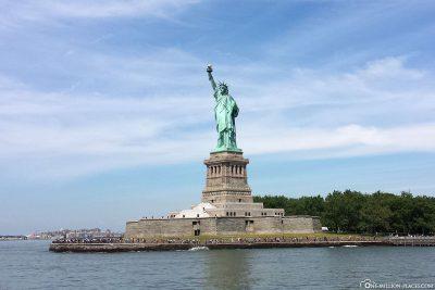 Die Insel Liberty Island