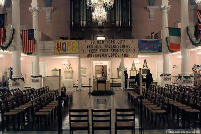 Memorial at St. Paul's Chapel