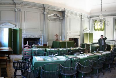 Independence Hall's Assembly Room