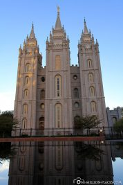 The view from Temple Square