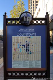 A map of Downtown