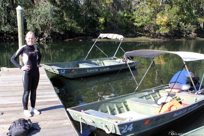 Motorboot-Verleih