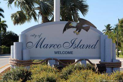Willkommen in Marco Island