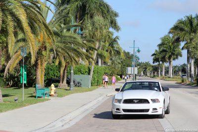 Fahrt durch Marco Island