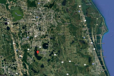 Map of the Airboat Tour in Orlando