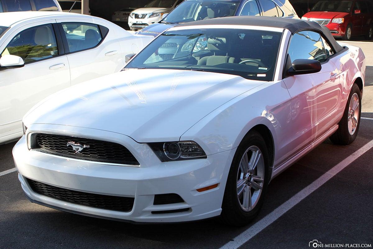 Orlando Car Hire Mustang, USA