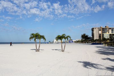 The great beach at St. Pete Beach