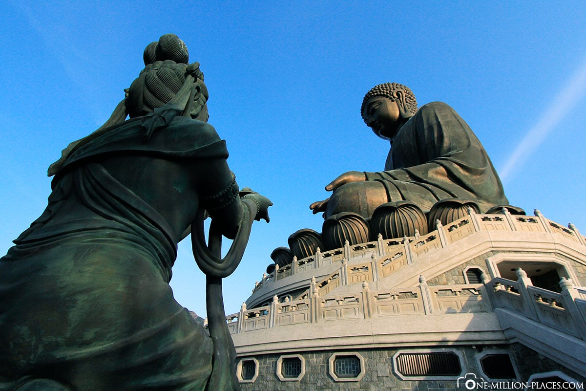 Big Buddha, Hong Kong, China, Sehenswürdigkeiten, Auf eigene Faust, Reisebericht