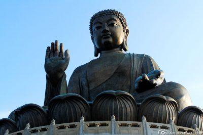 Der Big Buddha in Hong Kong