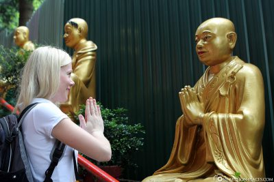 Die unterschiedlichen Buddha Statuen