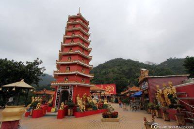 Der Hauptplatz des Klosters