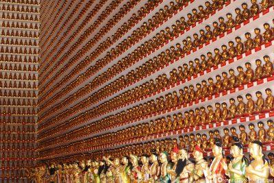 Eine Buddha Wand