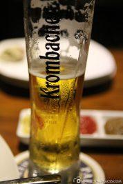 Krombacher Bier in Hong Kong