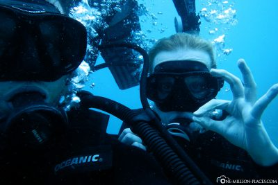 Our very first dive