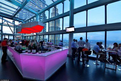 Die Rooftop Bar Marini's On 57