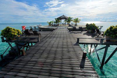 The dreamlike resort