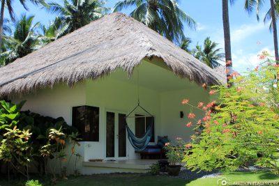 Unser Bungalow im Resort