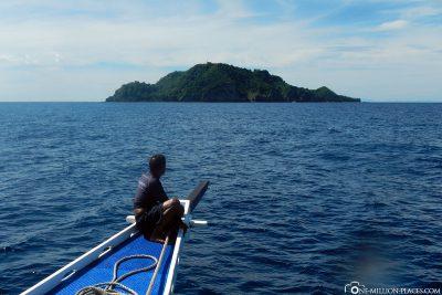 Bootsfahrt nach Apo Island