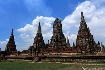 Die buddhistische Tempelanlage