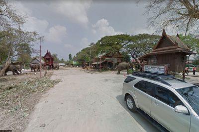Der Eingang zum Elephantstay