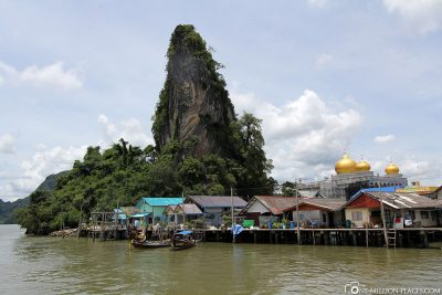 The village of Koh Panyee
