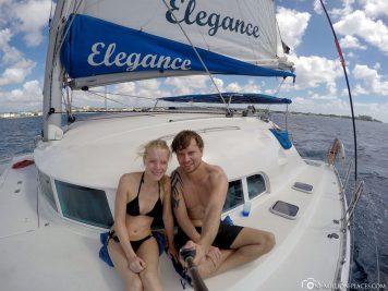 Katamaran Cruise auf Barbados