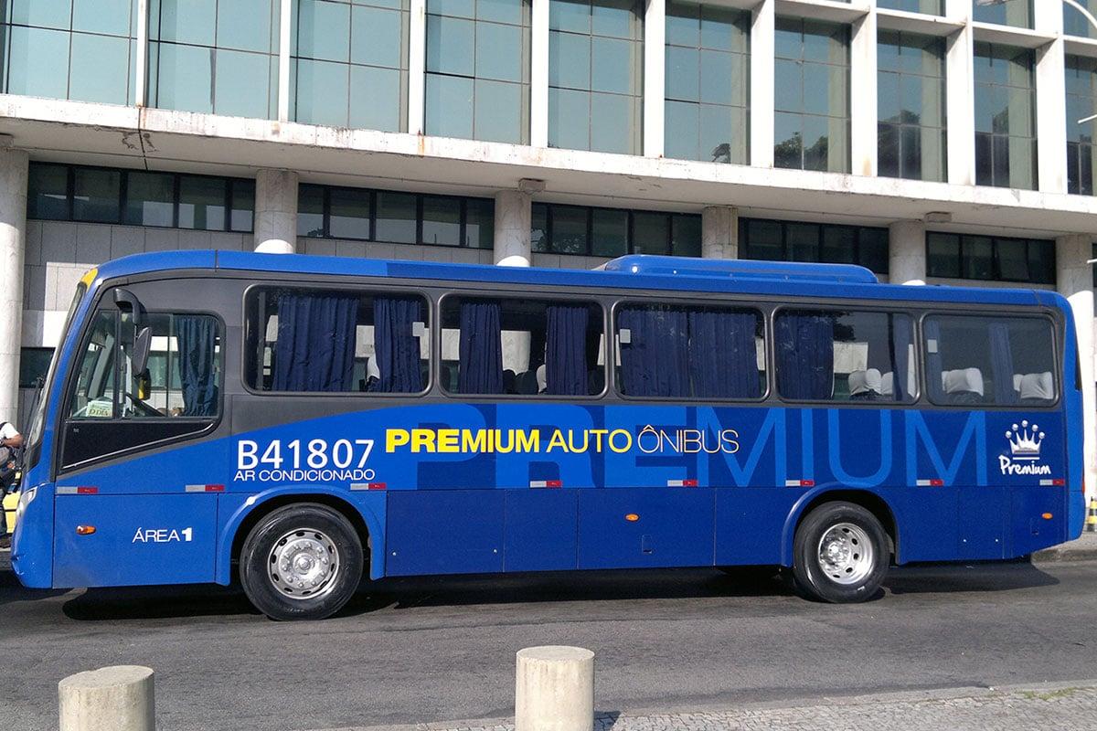 Bus, Airport, Rio de Janeiro, Brazil, South America, On Your Own, TravelReport