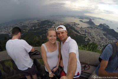 The view of Rio de Janeiro