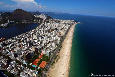 Der Blick auf Ipanema
