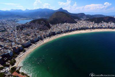 Blick auf die Copacabana