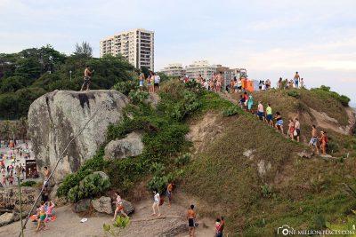 The Rocks of Arpoador
