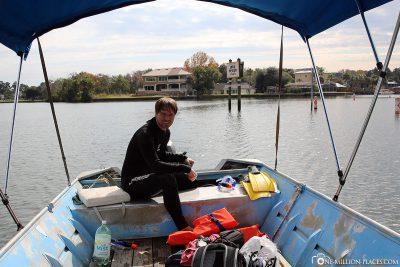 Bootsausflug in der Kings Bay