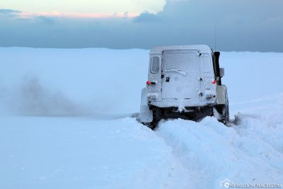 Our stuck Jeep