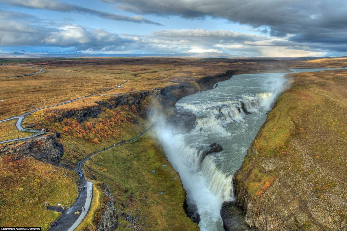 Gullfoss Waterfall, Golden Cyrcle, Iceland, On Your Own, Car Tour, Winter, Travel Report