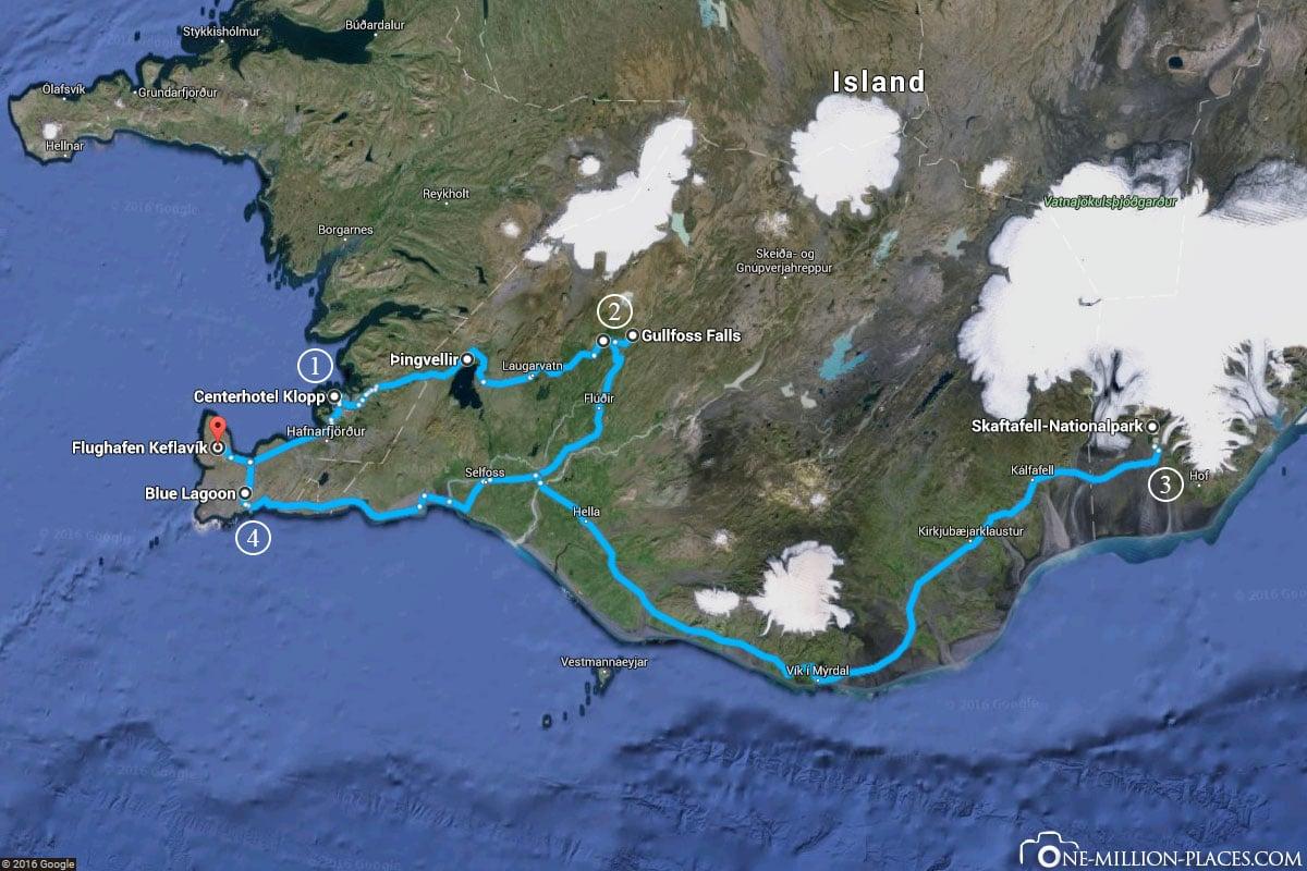 Routenplanung für Island, Reykjavik, Island, Reisebericht, Weltreise, Auf eigene Faust