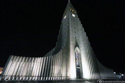 Die Kirche Hallgrímskirkja