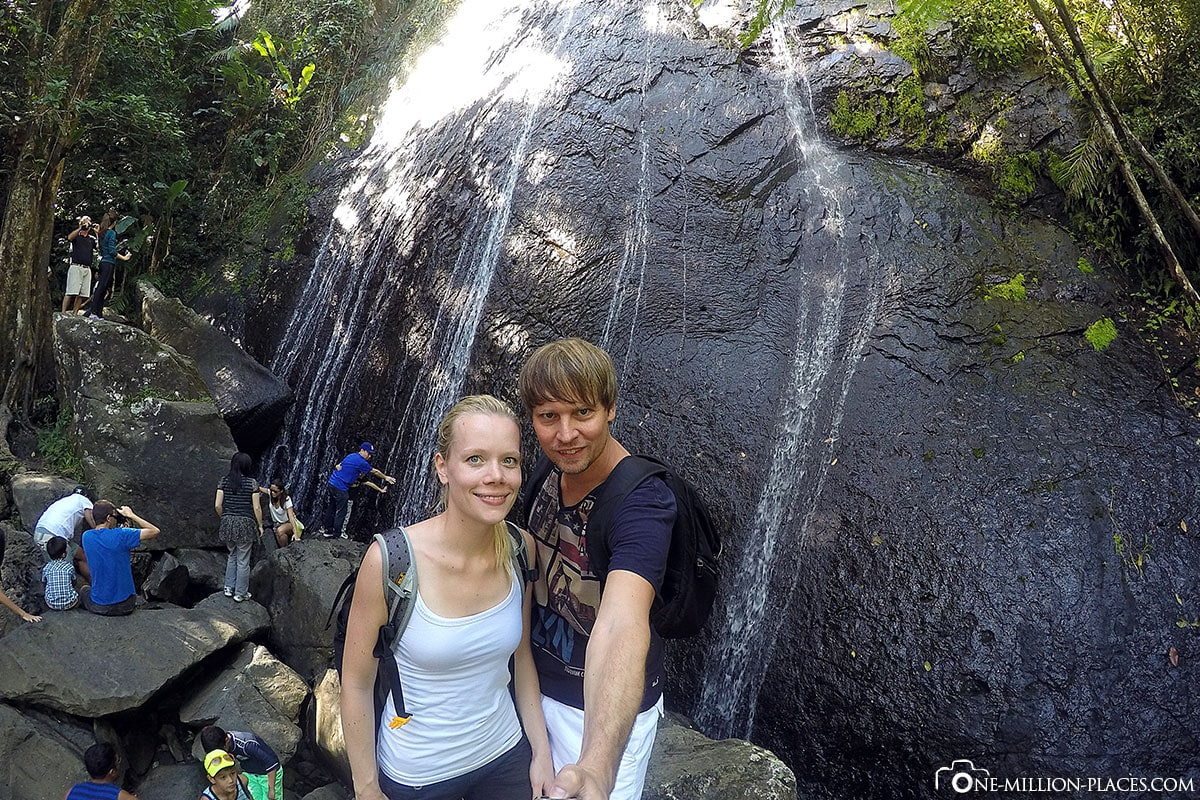 Waterfall, El Yunque Rainforest, Puerto Rico, National Park, Attractions, Day Tour, Travel Report